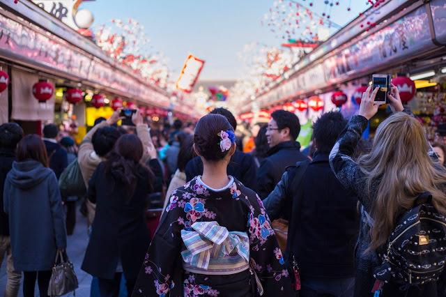 【東京】最道地的日本體驗-東京七色和服逛雷門淺草