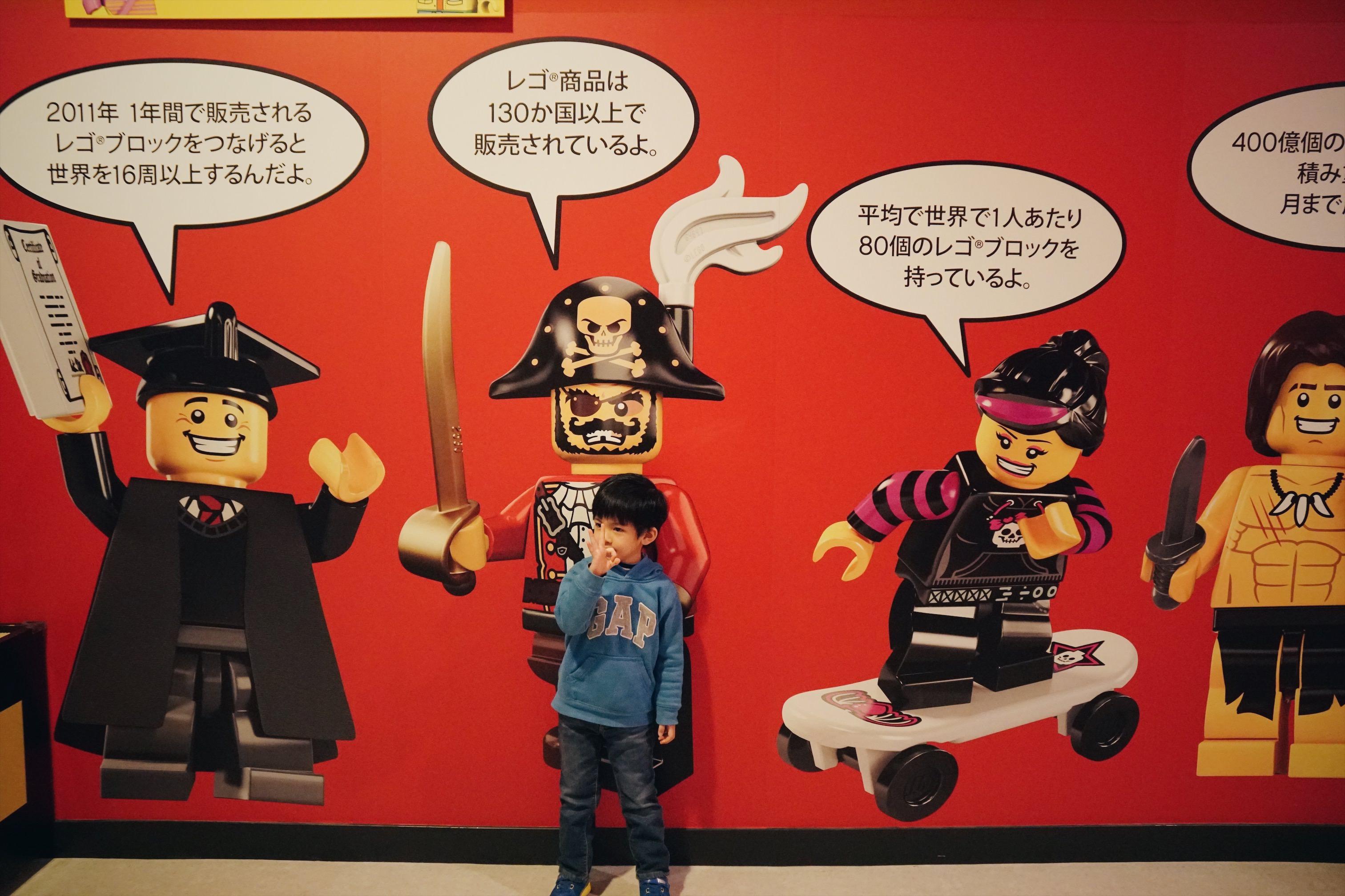 東京旅行|小孩一進去就上癮的台場樂高樂園LEGOLAND