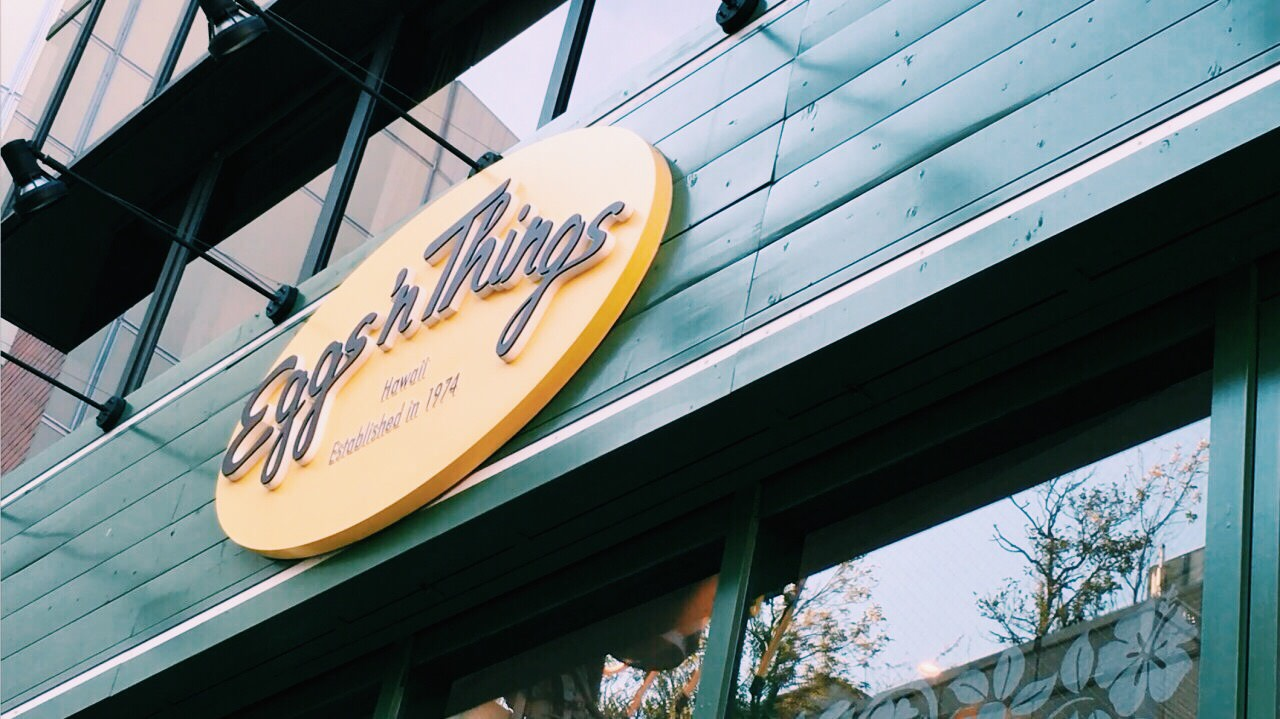東京美食 原宿逛街下午茶,夏威夷超人氣鬆餅Eggs'n Things