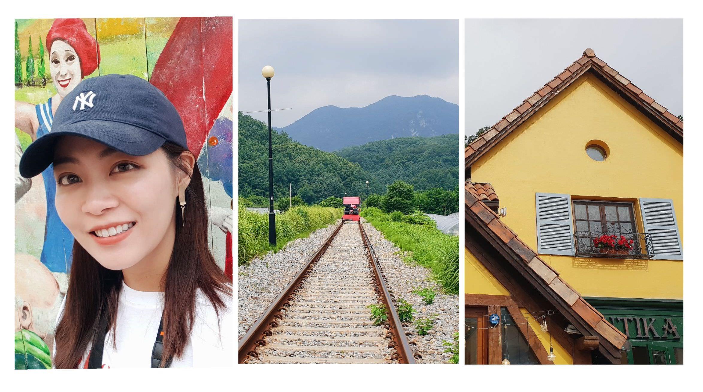 首爾旅行|完美近郊一日遊!小法國村、江村鐵路自行車、南怡島,含好吃的辣炒雞排午餐