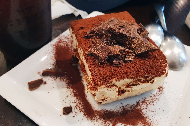 首爾美食|心目中最好吃的首爾甜點,明洞樂天百貨T La Felice Cafe提拉米蘇