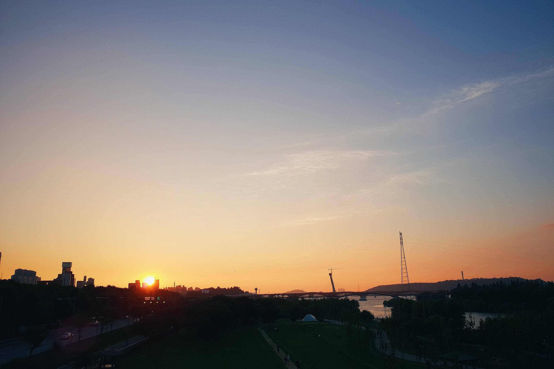 首爾旅行 市區也能看到美麗夕陽,首爾日落景點仙遊島