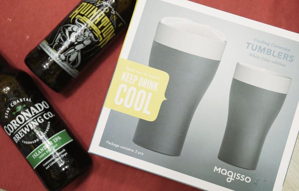 生活選物|別讓炎炎夏日壞了啤酒風味,芬蘭 Magisso Self-Cooling 啤酒專用杯讓啤酒保持低溫更好喝